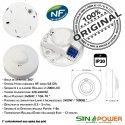 Détecteur de Mouvement SINOPower LED 360° Luminaire HF Capteur Ampoules Micro-Ondes Hyperfréquence Automatique Relais Radar Éclairage