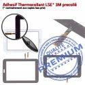 SM-T113 LITE Tab3 Blanche SM LCD Assemblée Vitre Verre TAB3 Supérieure Ecran PREMIUM Blanc en Galaxy Tactile Adhésif T113 Samsung Qualité Prémonté