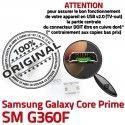 Samsung Prime SM-G360F USB Charg Connector Core Chargeur SM Galaxy de Micro Qualité Connecteur G360F ORIGINAL à charge souder Prise Dorés Pins