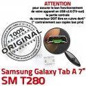 Samsung Galaxy Tab A T280 USB souder Pins inch Dock TAB à Dorés de Connector 7 SM Connecteur Micro Prise ORIGINAL charge Chargeur