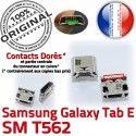 TAB E SM T562 USB Samsung Galaxy Qualité Dock Chargeur à Fiche Pins ORIGINAL MicroUSB SLOT Prise Connector Dorés SM-T562 de souder TAB-E charge