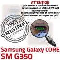 Samsung Core SM G350 Micro USB Galaxy ORIGINAL Connector Plus Pins Chargeur Fiche Prise SM-G350 à MicroUSB Qualité souder de charge Dock Dorés