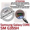 Samsung Core SM-G355H USB Charge G355H Pins SM ORIGINAL Prise à Qualité Galaxy charge Dorés de Micro Connector Connecteur souder Chargeur PORT 2