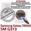 TREND S DUOS SM-G313 USB Charge Dorés charge de Samsung Pins souder Micro Connector ORIGINAL Galaxy Prise à Chargeur Connecteur G313 SM Qualité
