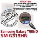 TREND DUOS SM-G313HN USB Charge souder Qualité SM Connector Connecteur Pins à G313HN de Chargeur Prise Samsung Galaxy ORIGINAL charge Micro Dorés