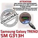 TREND S DUOS SM G313H Micro USB Chargeur SM-G313H charge souder Fiche Connector MicroUSB de ORIGINAL Dorés à Pins Prise Galaxy Dock Samsung Qualité