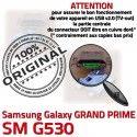 GRAND PRIME SM-G530 USB Charge G530 souder Doré Connector Prise charge Galaxy Samsung Connecteur à ORIGINAL Chargeur Qualité Micro de SM