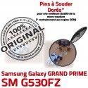 GRAND PRIME SM G530FZ Micro USB charge Qualité SM-G530FZ Dorés Prise à ORIGINAL de Pins souder Chargeur Fiche Connector Dock MicroUSB Galaxy Samsung