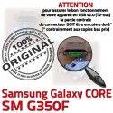 Samsung Core SM G350F Micro USB Connector charge Plus SM-G350F Prise MicroUSB de Chargeur Fiche souder Dock Galaxy Qualité ORIGINAL Pins à Dorés