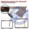 Galaxy SM-T531 Tab4 Noire Qualité en Écran Complet Samsung Verre Prémonté Tactile Adhésif Vitre PREMIUM Assemblée Noir TAB4 Complète