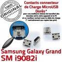Samsung Galaxy i9082i USB Pins GT Prise à charge ORIGINAL Micro souder Dorés Connecteur Chargeur Dock Qualité Connector Grand de