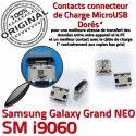 Samsung Galaxy NEO i9060 USB souder Grand Prise Chargeur Connecteur ORIGINAL Connector Pins Qualité GT Dorés Dock à Micro charge