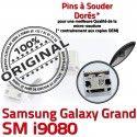 Samsung Galaxy i9080 USB GT Chargeur Dock Micro souder Pins charge Dorés Qualité à ORIGINAL Connecteur Connector Grand de Prise