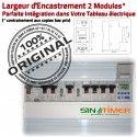 Commutateur Aérateur Aération16A Electronique Rail DIN Tableau électrique Digital 4kW Programmation Aération Automatique Journalière Minuterie 16A 4000W
