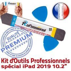 KIT iSesamo iLAME A2197 Outils Qualité 2019 A2198 iPad Réparation 10.2-inch PRO Tactile Remplacement Ecran Compatible Démontage Vitre