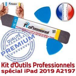 Compatible Vitre iLAME inch 2019 10.5 Qualité Outils PRO Démontage KIT Ecran iSesamo Réparation Professionnelle A2197 Tactile iPad Remplacement