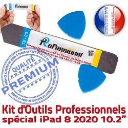 Remplacement PRO Outils Qualité génération Ecran iPad 8ème iLAME Démontage Compatible 2020 Tactile iSesamo Vitre KIT Réparation 10.2-inch
