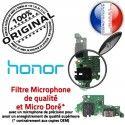 Honor 9X PRO JACK AUDIO Type-C Microphone Nappe Audio Charge Qualité Chargeur Micro PORT ORIGINAL Antenne Casque Câble Téléphone USB