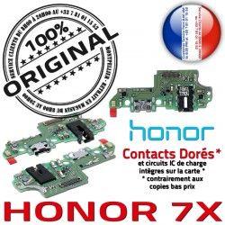 Charge écouteurs DOCK Câble Audio Nappe OFFICIELLE 7X Antenne JACK Téléphone Honor Chargeur PORT Microphone USB Qualité ORIGINAL