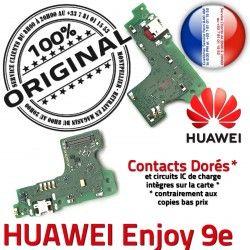Antenne Enjoy Téléphone Huawei ORIGINAL 9e Chargeur Qualité Prise RESEAU Nappe Microphone Micro Connecteur USB OFFICIELLE Charge