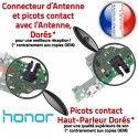 Honor 8X Branchement PORT USB ORIGINAL Charge Qualité Nappe Téléphone Prise Micro Microphone Câble OFFICIELLE Chargeur Antenne