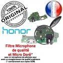 Honor 8X Branchement Nappe ORIGINAL Prise Téléphone PORT Antenne OFFICIELLE Câble Micro Chargeur Charge Microphone Qualité USB