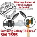 Samsung Galaxy TAB A SM-T555 C Doré de MicroUSB T555 SM OFFICIELLE ORIGINAL Nappe Qualité Réparation Connecteur Chargeur Contact Charge