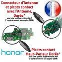 Honor 5X Contacts Haut-Parleur PORT Nappe Charge Chargeur JACK ORIGINAL USB Câble Qualité Microphone Antenne Téléphone DOCK