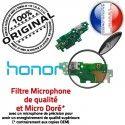 Honor 5X JACK Haut-Parleur ORIGINAL Microphone Chargeur USB Charge Nappe Antenne Téléphone Câble Micro OFFICIELLE Qualité PORT