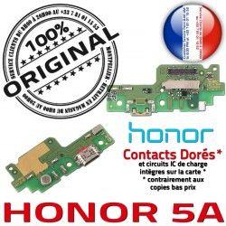 OFFICIELLE 5A RESEAU Chargeur de Connecteur Micro Microphone JACK ORIGINAL Prise USB Câble Antenne Qualité Nappe Honor Charge