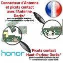 Honor 7A JACK AUDIO ORIGINAL Antenne Charge OFFICIELLE Microphone Chargeur USB Qualité Micro PORT Audio Nappe Téléphone Câble Casque