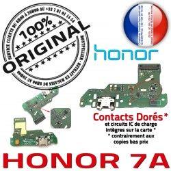 7A ORIGINAL Connecteur Honor Chargeur Rapide Charge Qualité Câble Microphone OFFICIELLE Prise USB Nappe Micro RESEAU Antenne