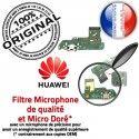 Huawei Y6 2018 JACK écouteurs Chargeur PORT Téléphone Antenne Charge Audio DOCK Microphone Câble Nappe Qualité de USB ORIGINAL