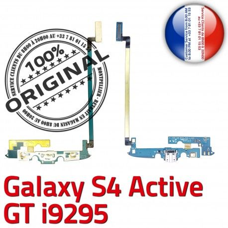 Samsung Galaxy S4 GT i9295 C MicroUSB Chargeur OFFICIELLE Charge Connecteur Qualité ORIGINAL Antenne Nappe Prise Active Microphone