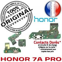 RESEAU ORIGINAL Micro OFFICIELLE Nappe 7A Téléphone Microphone JACK Honor USB PORT Chargeur Câble Charge Antenne PRO Prise