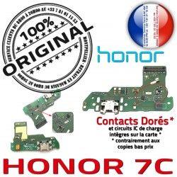 Nappe PORT Câble Antenne Qualité Honor 7C Audio DOCK Charge USB ORIGINAL écouteurs OFFICIELLE Microphone JACK Téléphone Chargeur