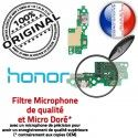 Honor 5C Microphone ORIGINAL Huawei Téléphone Chargeur Prise OFFICIELLE DOCK RESEAU Qualité Charge Nappe Antenne Connecteur USB