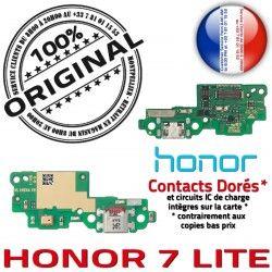 de Câble PORT Honor Charge ORIGINAL USB OFFICIELLE 7 Microphone JACK Micro Nappe Antenne C Téléphone LITE Chargeur Branchement