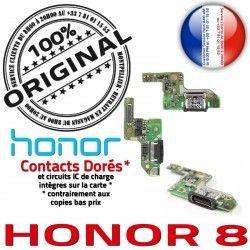 USB RESEAU ORIGINAL Honor Microphone Câble Nappe Antenne Micro Prise Qualité Chargeur PORT JACK 8 Charge Téléphone Type-C