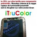 LCD Apple in-CELL iPhone A2099 in True 5,8 Qualité PREMIUM HD inCELL SmartPhone Écran Affichage Tone HDR Tactile Super Réparation Retina Verre