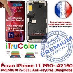 Écran PREMIUM iPhone Multi-Touch Verre Touch Remplacement iTrueColor A2160 Apple inCELL LCD SmartPhone Cristaux 3D Liquides
