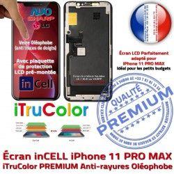 LCD iPhone Verre PRO Multi-Touch PREMIUM SmartPhone Affichage Tone Oléophobe Tactile Écran Vitre 11 inCELL iTrueColor MAX True