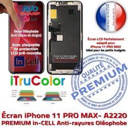 11 iPhone 6,5 Retina Écran Apple Cristaux inCELL Liquides LCD PREMIUM MAX Vitre Affichage Châssis SmartPhone PRO Complet A2220 pouces
