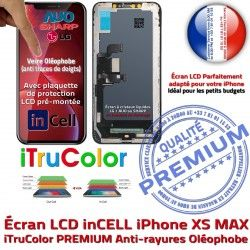 Apple HDR SmartPhone in-CELL Oléophob Affichage PREMIUM LCD LG Verre True XS Écran Tone Multi-Touch MAX iPhone Tactile inCELL iTrueColor