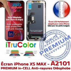 Tactile in-CELL LCD PREMIUM Écran Tone True inCELL Retina Multi-Touch Apple Verre iPhone A2101 SmartPhone HD Affichage Réparation