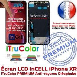 iTrueColor 6,1 Cristaux XR PREMIUM inCELL 3D HD Vitre Super Touch Apple Retina Écran Réparation Liquides inch SmartPhone iPhone LCD