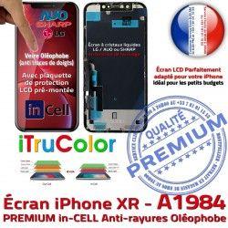 Qualité Écran A1984 in-CELL Retina Tone Réparation HD Affichage iPhone Verre Apple PREMIUM Tactile 6,1 SmartPhone LCD HDR True Super inCELL Ecran in