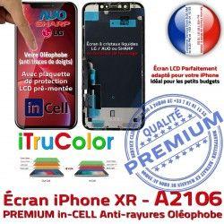 A2106 Retina iPhone SmartPhone inCELL Apple Cristaux Vitre in True XR 6,1 Complet Tone PREMIUM Liquides Super Écran Affichage