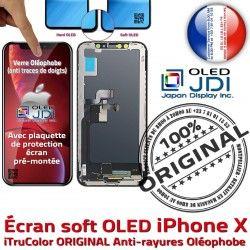 Tone pouces Écran SmartPhone Super Apple 5.8 OLED Oléophob Vitre Qualité Retina True X ORIGINAL LG Changer soft HDR Affichage Verre iPhone