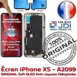 Assemblée Super Châssis Retina SmartPhone iPhone Vitre 5,8 soft Affichage True A2099 Apple OLED Tone XS ORIGINAL Complet pouces Écran